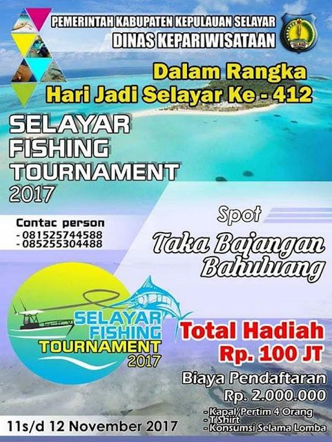 Selayar Fishing Tournament 2017, Tantang Para Pemancing Indonesia