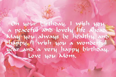 Mother Birthday Quotes | Beautiful Happy Birthday Messages For Mother 50 Birthday Wishes