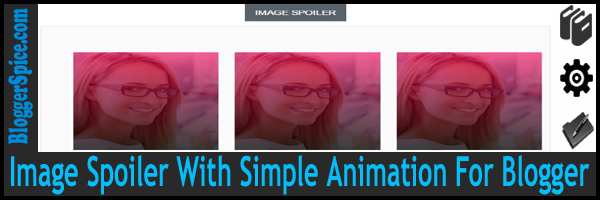 Image Spoiler With Simple Animation For Blogger