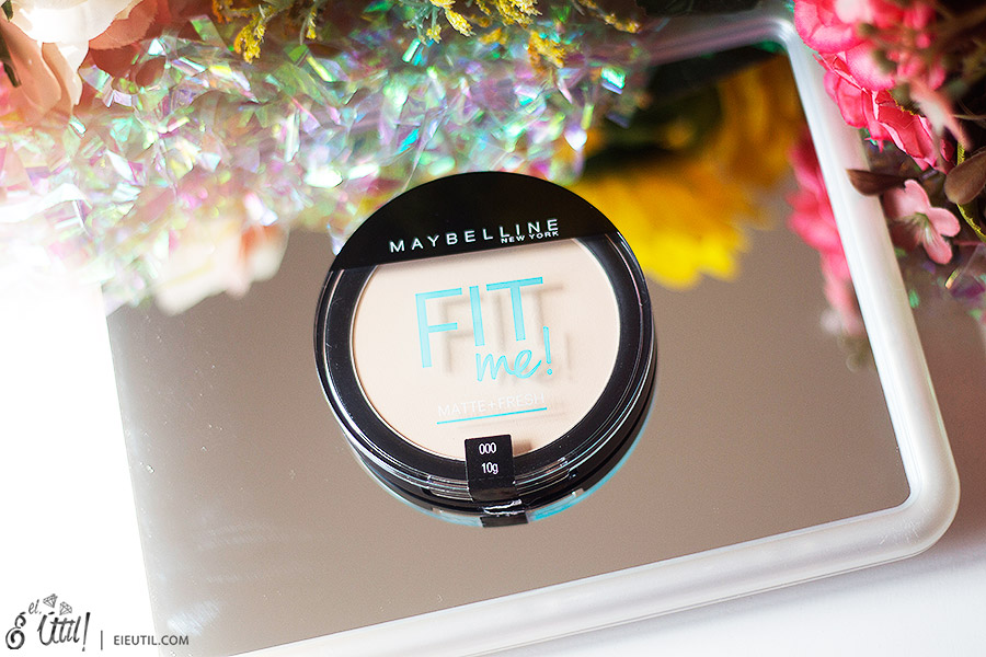 Pó Compacto Matte + Fresh Fit Me! (000 Translúcido) - Maybelline