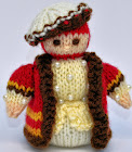 Tudor Gentleman Doll Knitting Pattern