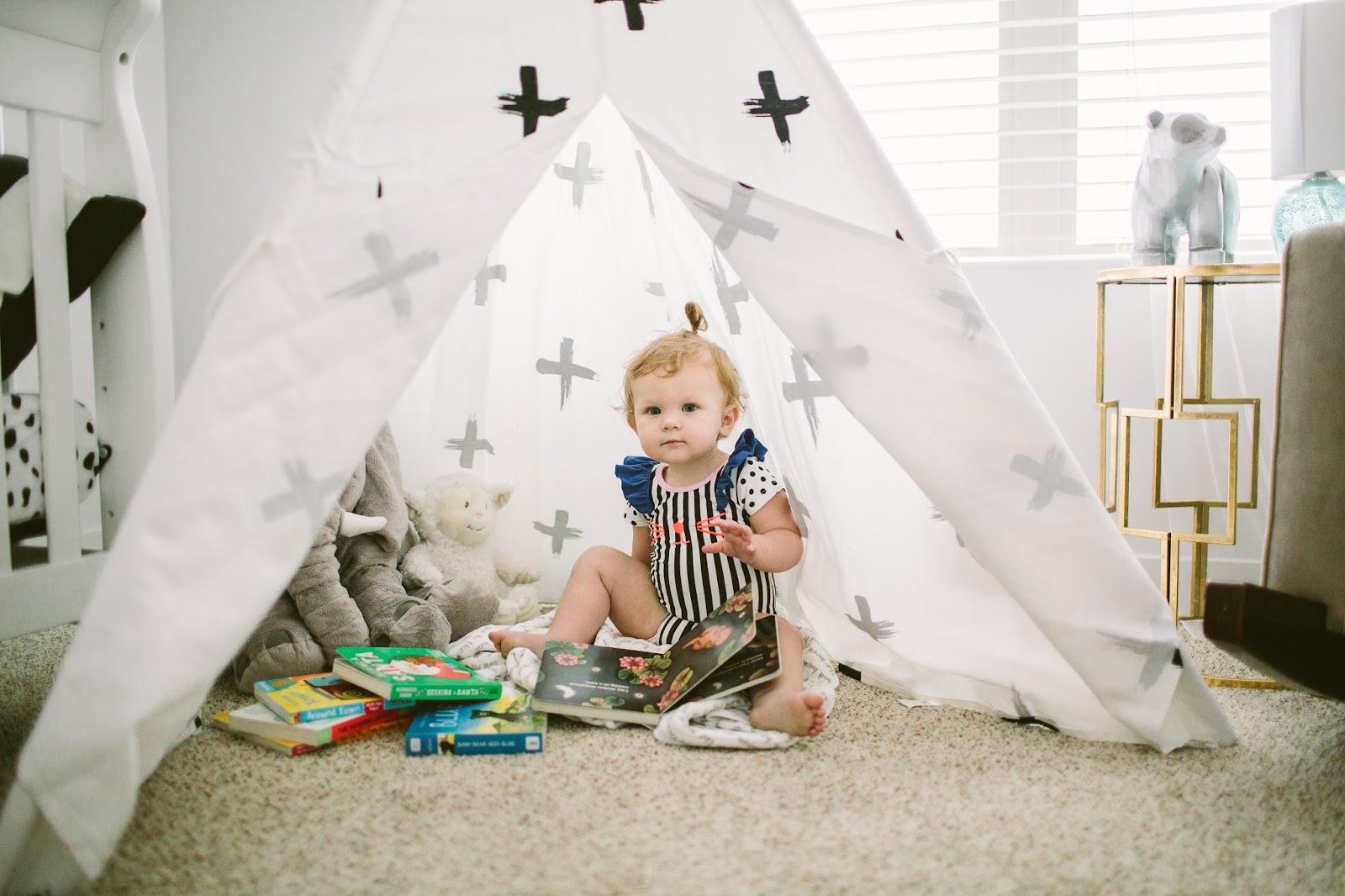 Baby Nursery, Teepee, Plus Sign Teepee