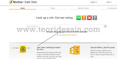 Cara Mendaftarkan Blog di Norton Safe Web1