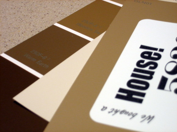 Paint Swatch House Announcement