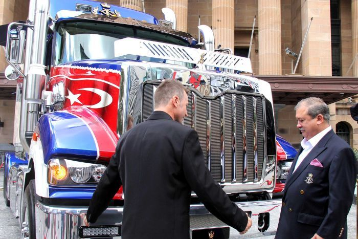 Mack Truck commissioned by the Sultan of Johor, Malaysia