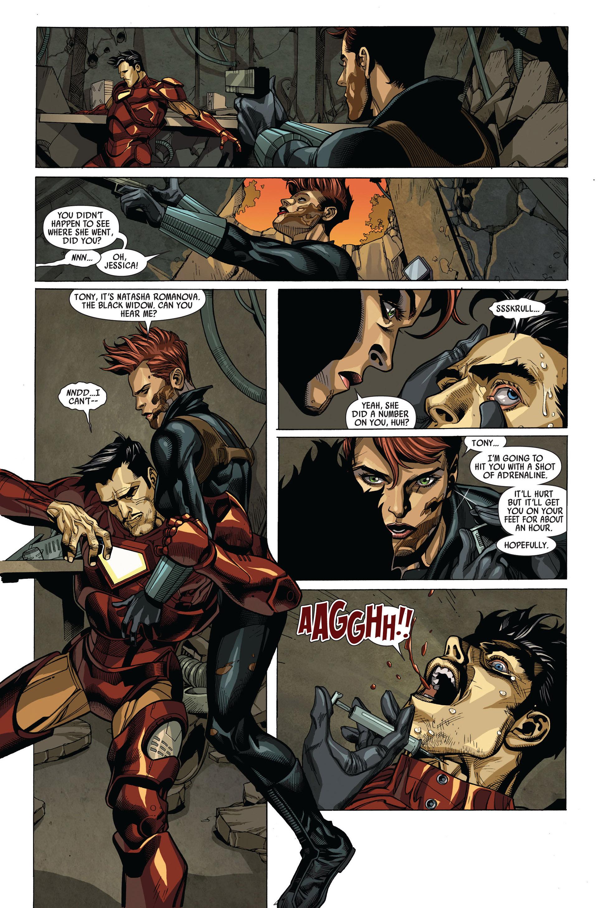 Read online Secret Invasion comic -  Issue #4 - 13