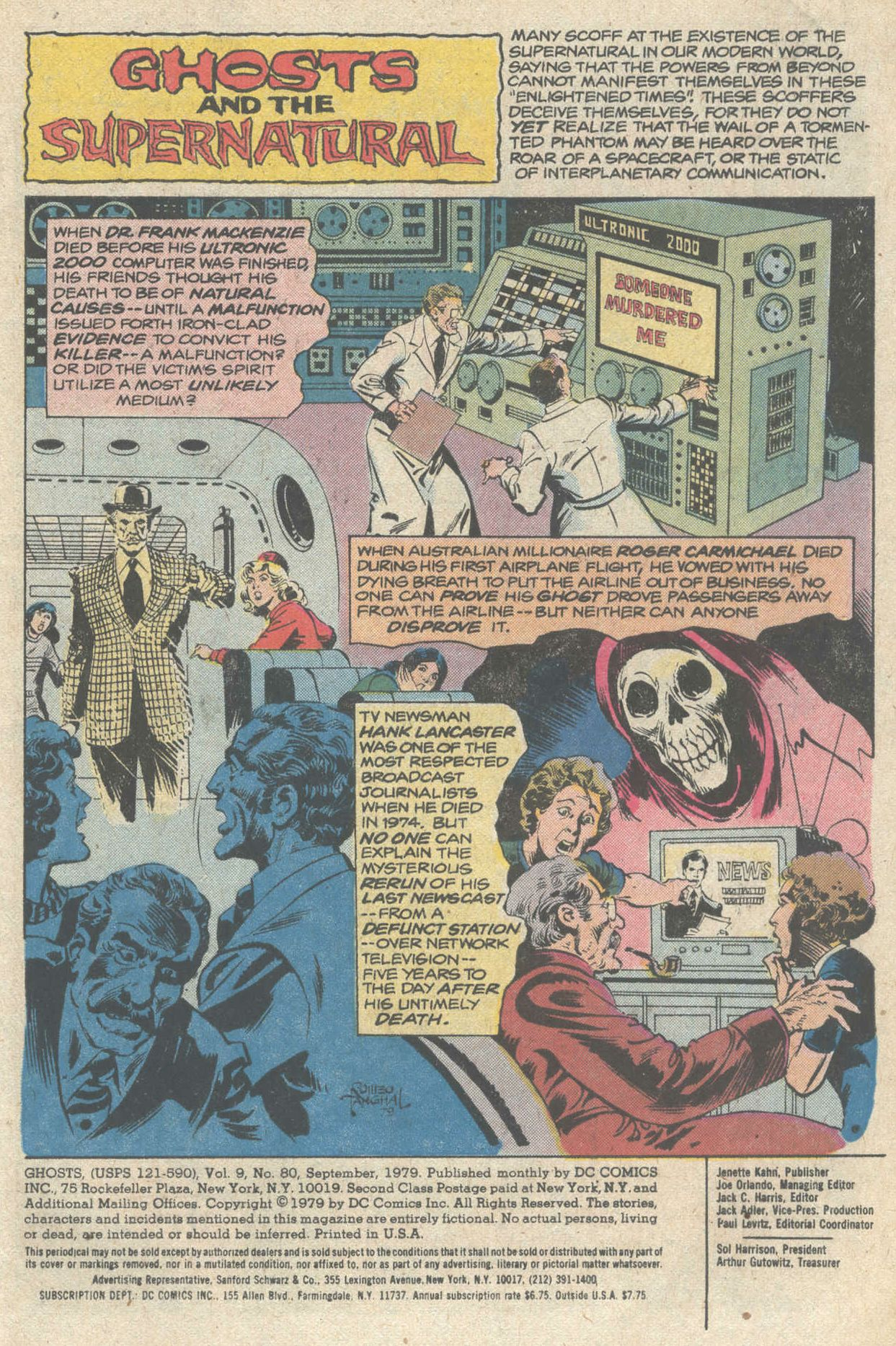 Read online Ghosts comic -  Issue #80 - 3