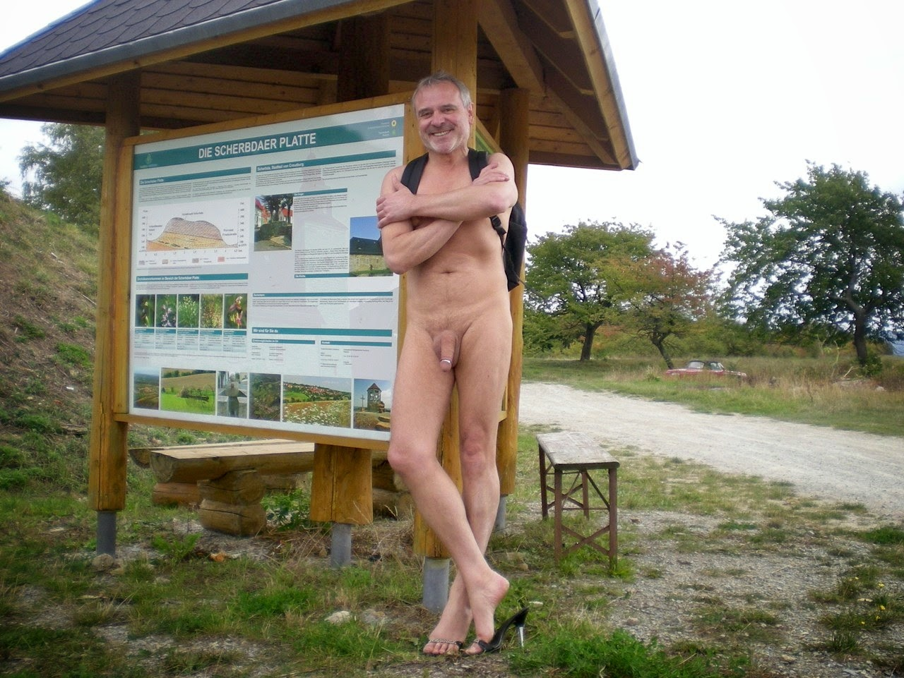 hiking georgia nude