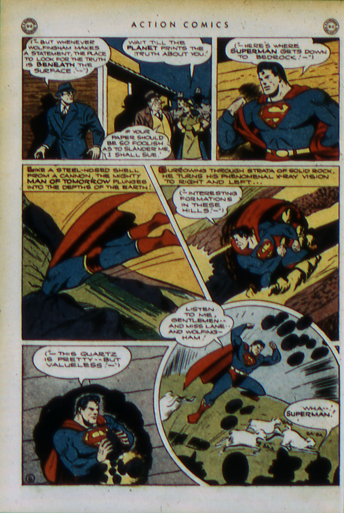 Read online Action Comics (1938) comic -  Issue #79 - 9