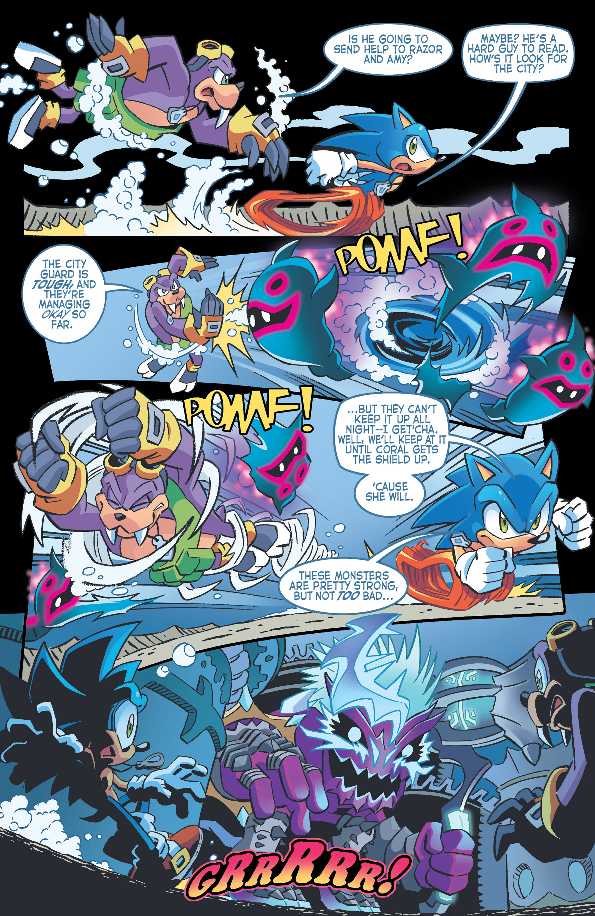 Read online Sonic The Hedgehog comic -  Issue #262 - 9