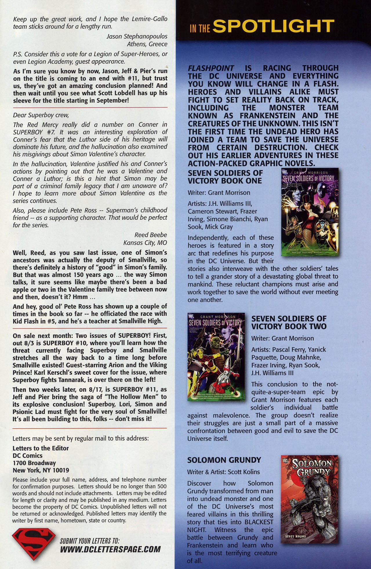 Superboy [I] Issue #9 #9 - English 39
