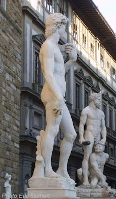 Voyage à Florence, Sculptures, David, Florence, Michel Ange,