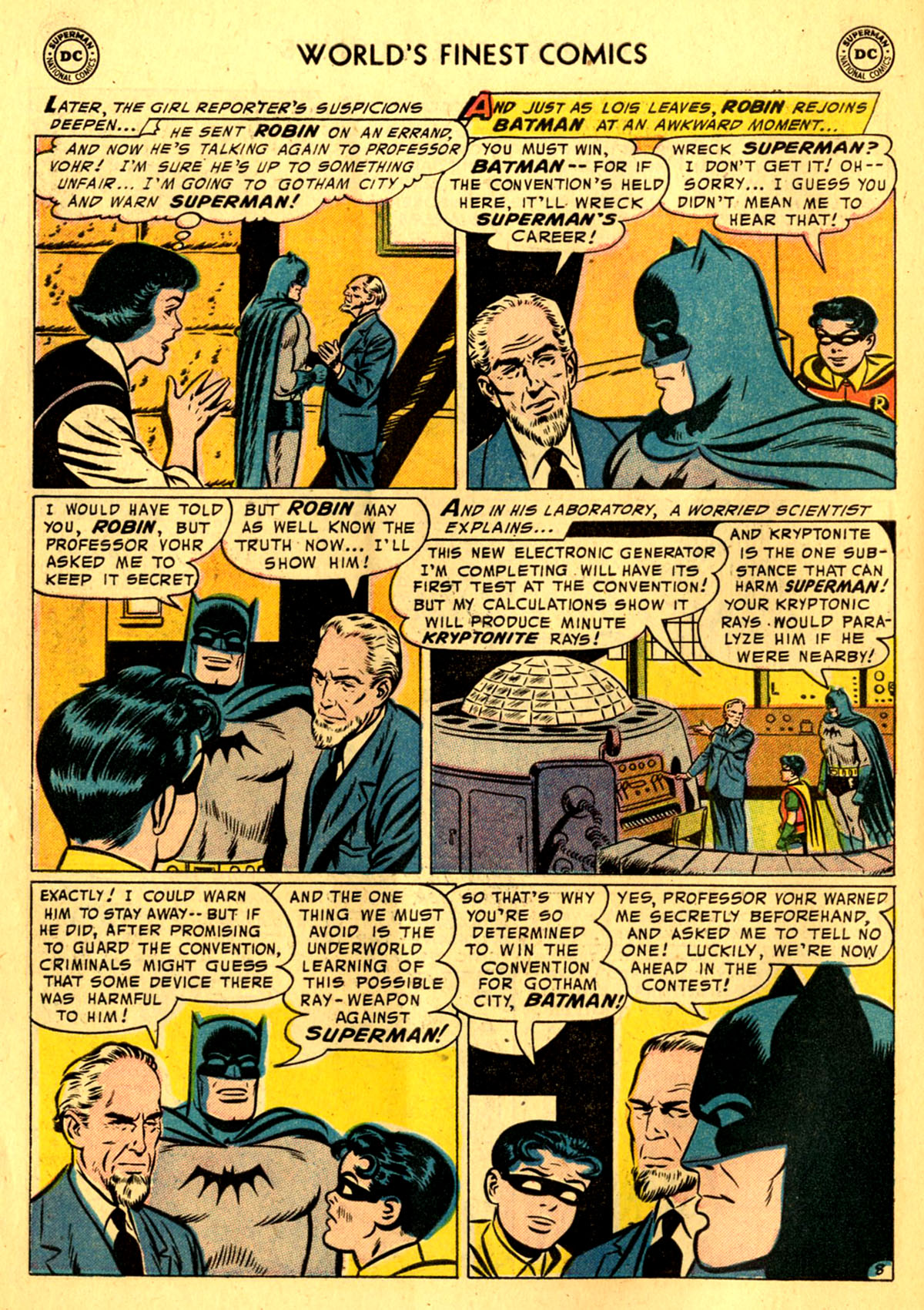 Read online World's Finest Comics comic -  Issue #76 - 10