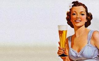 Beber cerveza es bueno para las mujeres