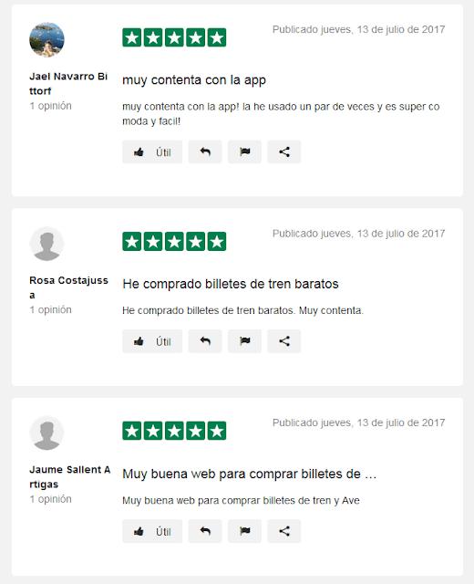 Opiniones sobre Trenes.com