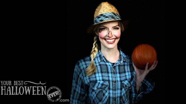 Makeup by Devin Przygoda, Halloween mua, scarecrow