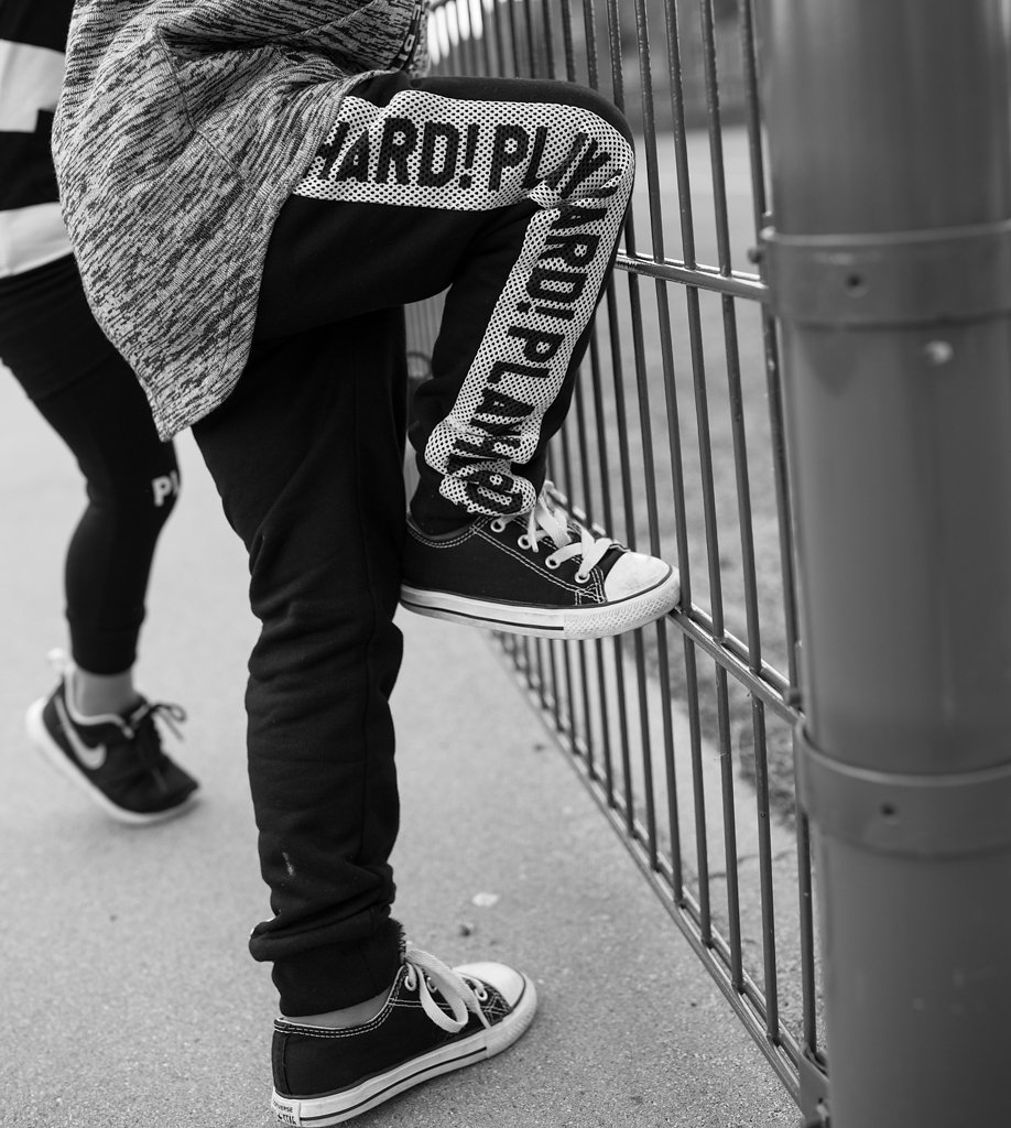 Lucky No 7 Autumn 2016 kidswear collection - Play Hard! sweatpants