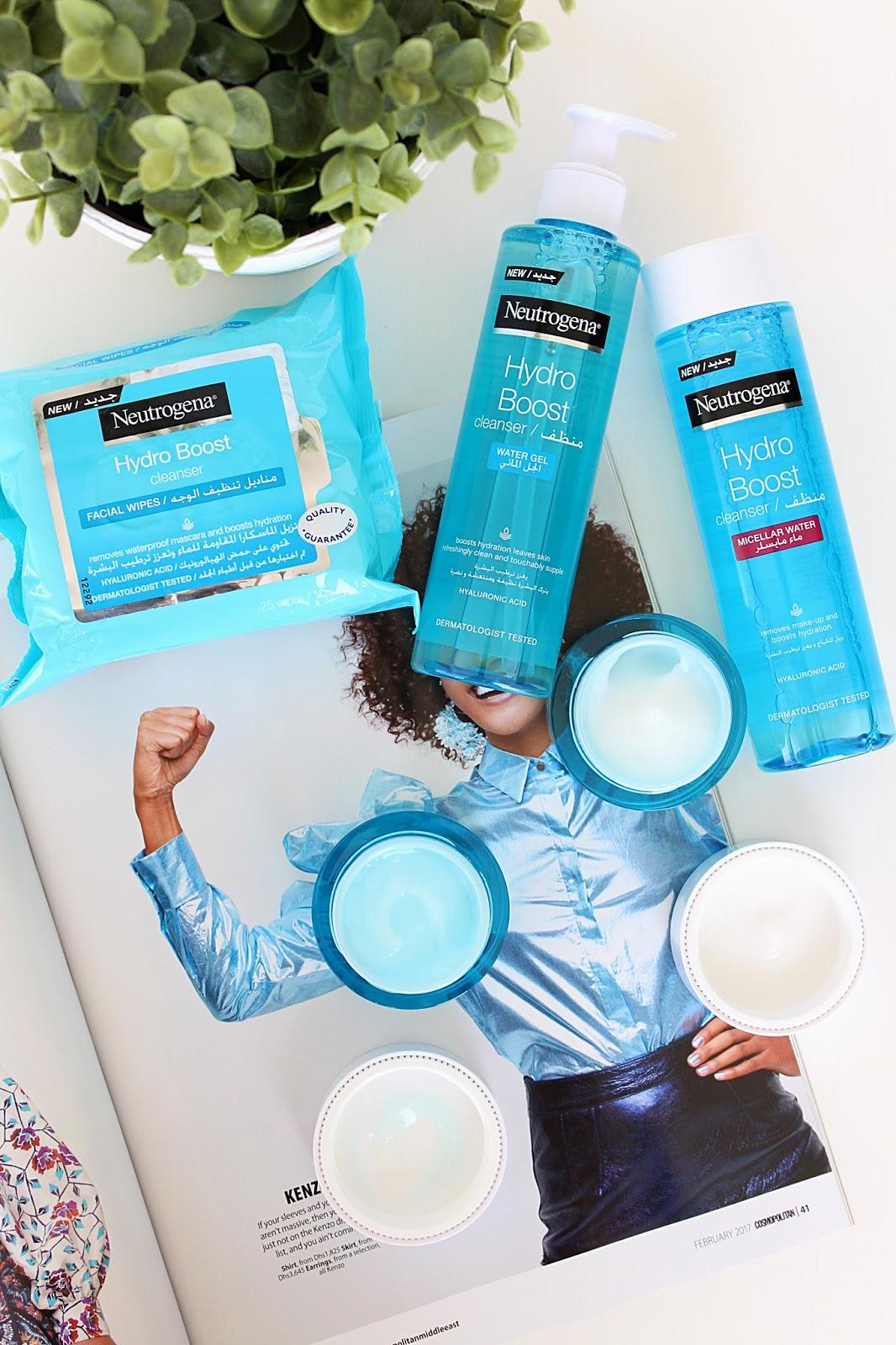 Neutrogena Hydro Boost Skincare Range Review