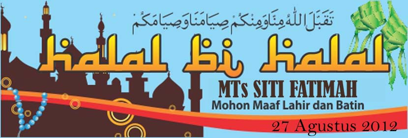 Mts Siti Fatimah Pandaan Halal Bihalal Syawwal 1433