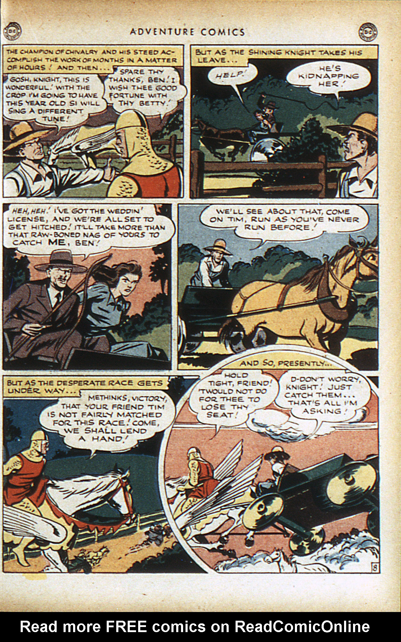 Read online Adventure Comics (1938) comic -  Issue #95 - 22