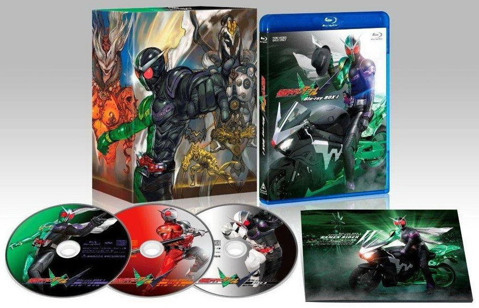 Kamen Rider W [BRRIP/720] + Extras & Movies English Sub