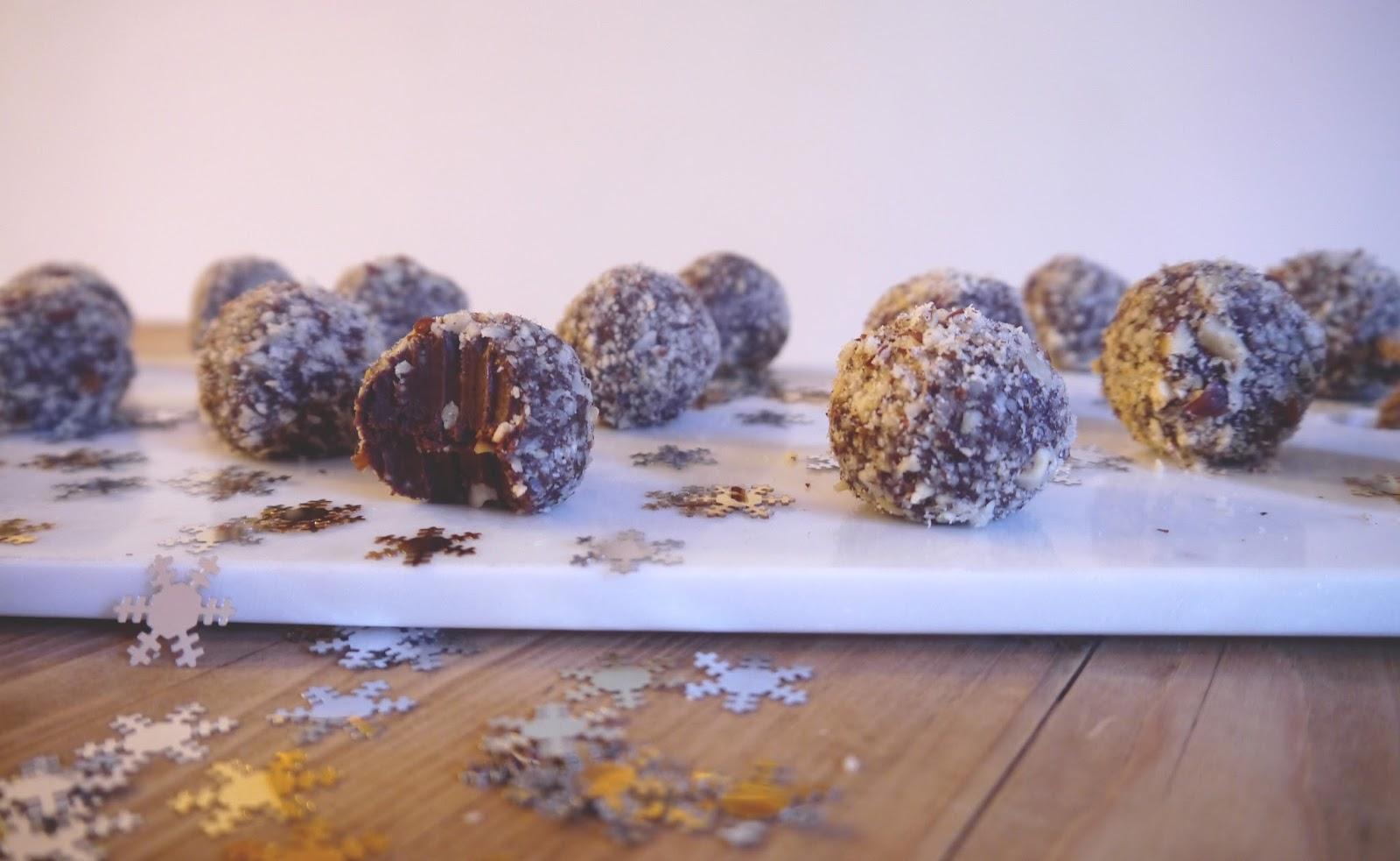 how to make raw chocolate truffles