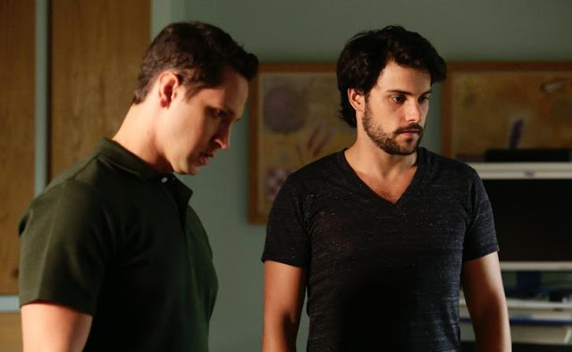 "Connor y Asher, 3x10 ""We're Bad People"" de 'How to get Away with Murder'"