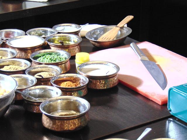 Restauracja Indyjska Ganesh Kraków - Warsztaty dla blogerów z szefem Tapi Sharma