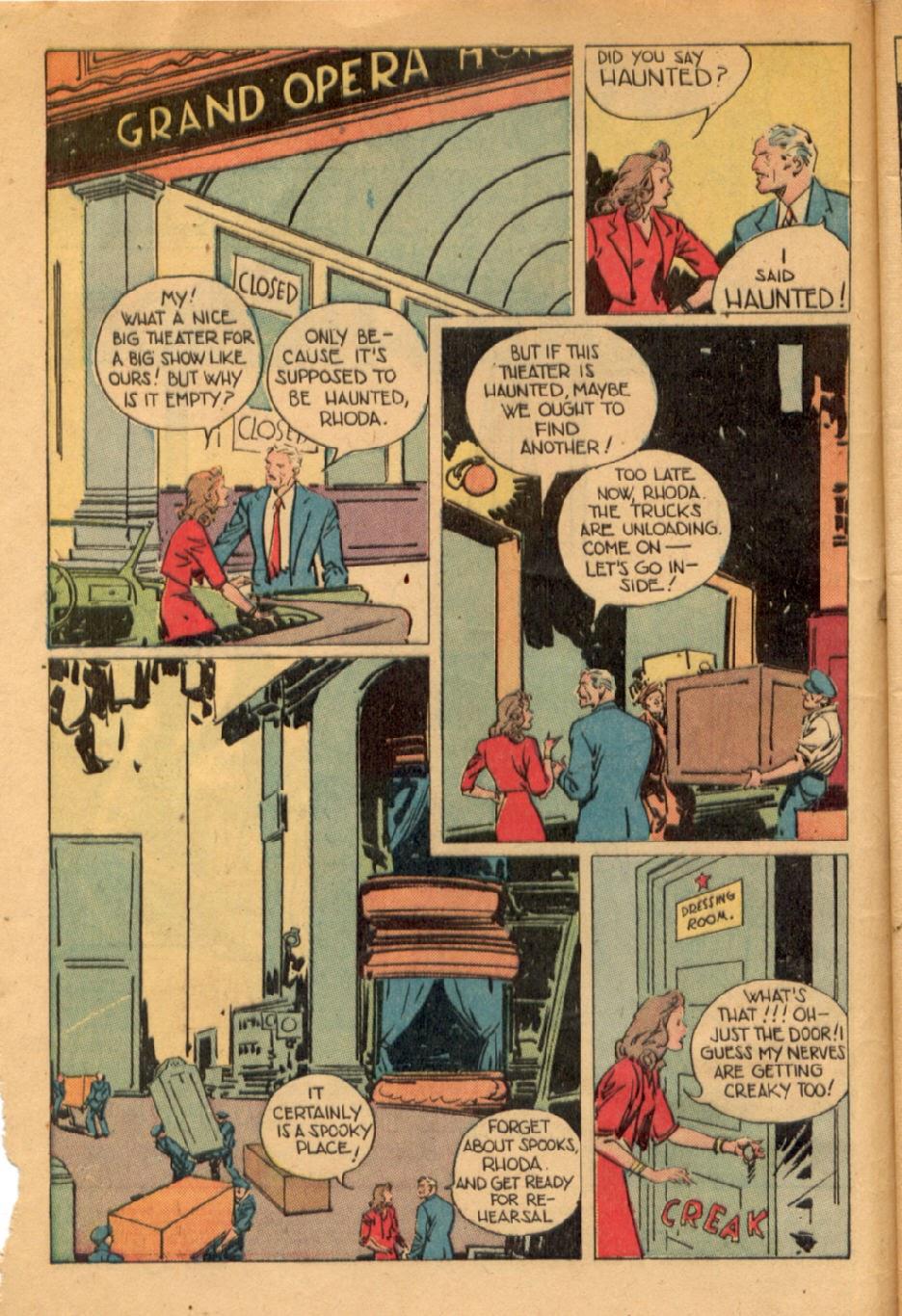 Read online Super-Magician Comics comic -  Issue #43 - 4