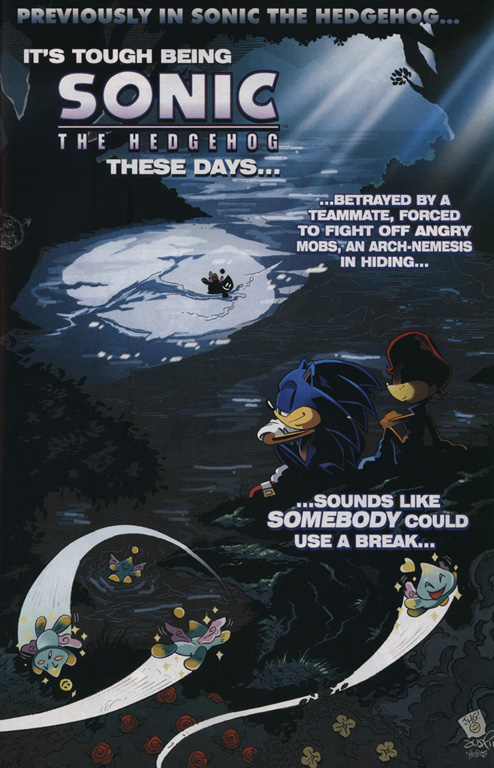 Read online Sonic The Hedgehog comic -  Issue #222 - 2