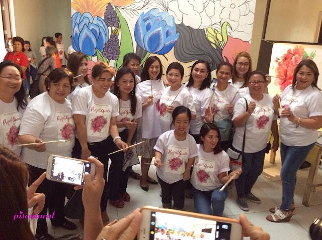 Invited guest speakers that afternoon were lady advocates, Antoinette Taus and Toinkee Tomen. Vice Mayor Joy Belmonte was also in attendance to show her support.