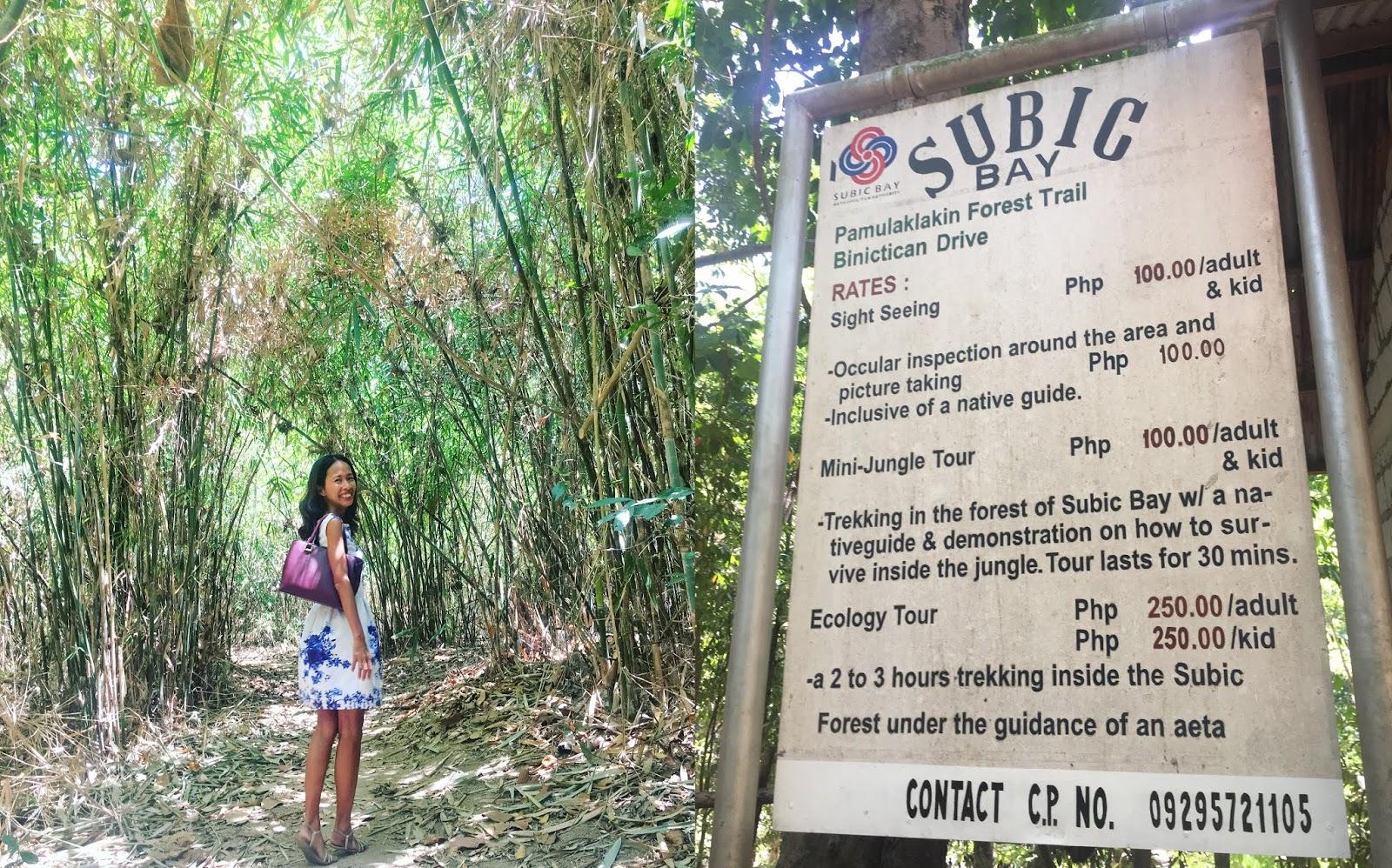 PAMULAKLAKIN FOREST TRAIL SUBIC BAY