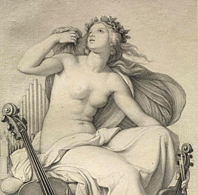Eduard Julius Friedrich Bendemann - allegoria della Musica