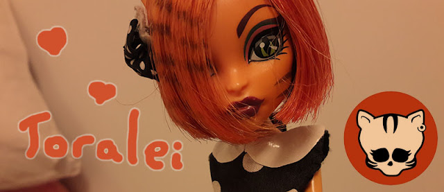 boneca Toralei Monster High
