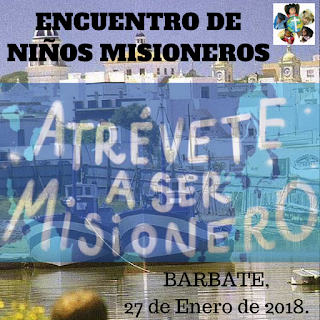Misiones, misioneros, Encuentro de niños, Barbate
