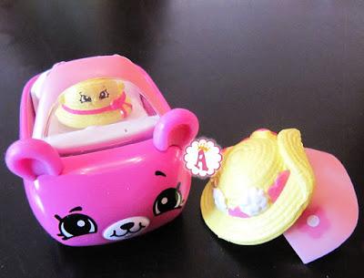 Дама-Панама с пассажиром Шляпой Shopkins Cutie Cars