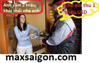Người nhận trả phí | Max sài gòn