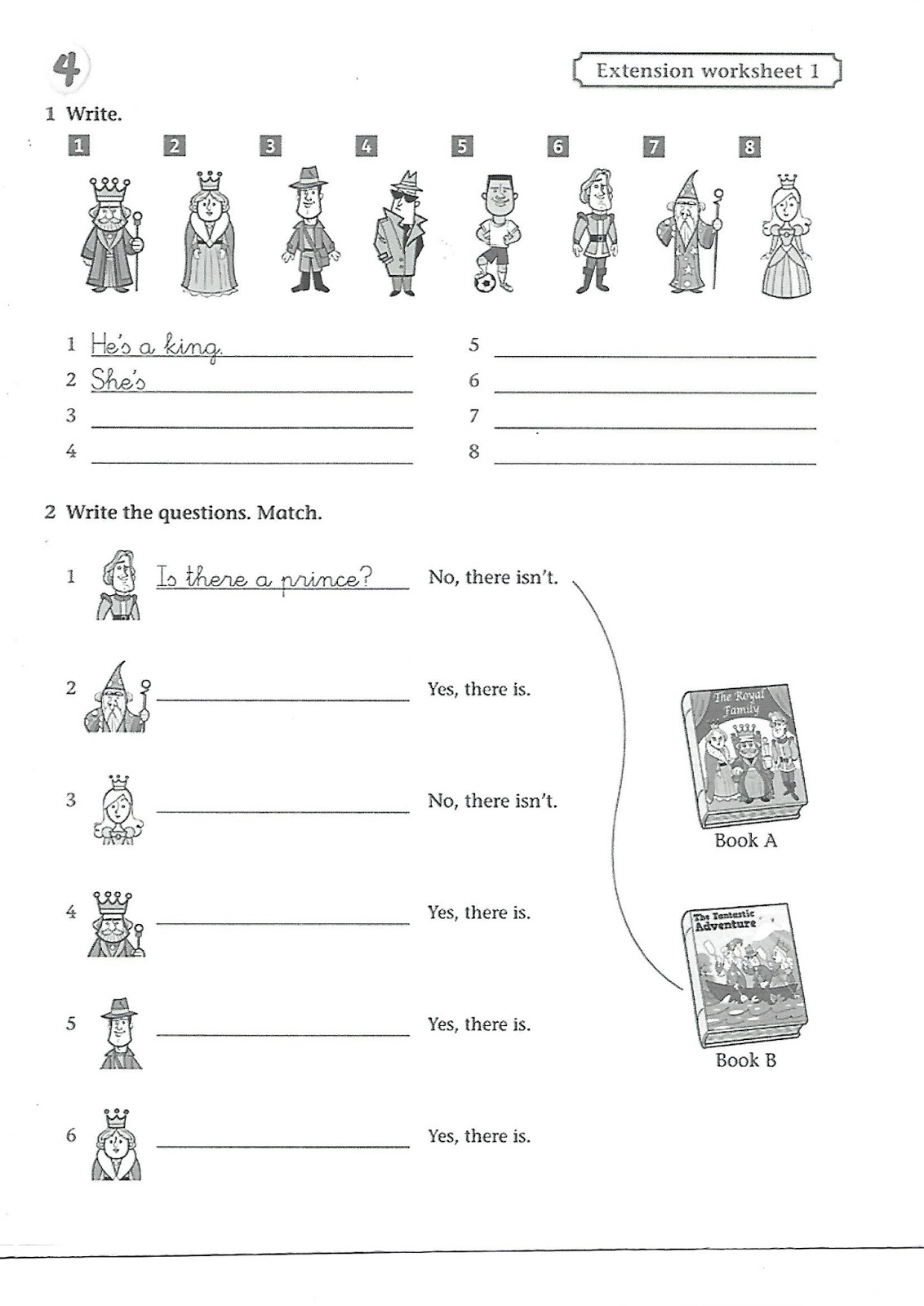 Colegio Galaxia English Class Extra Activities For Third