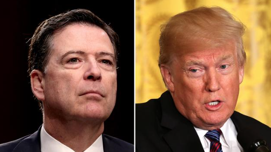 Comey: I'm not making fun of the president
