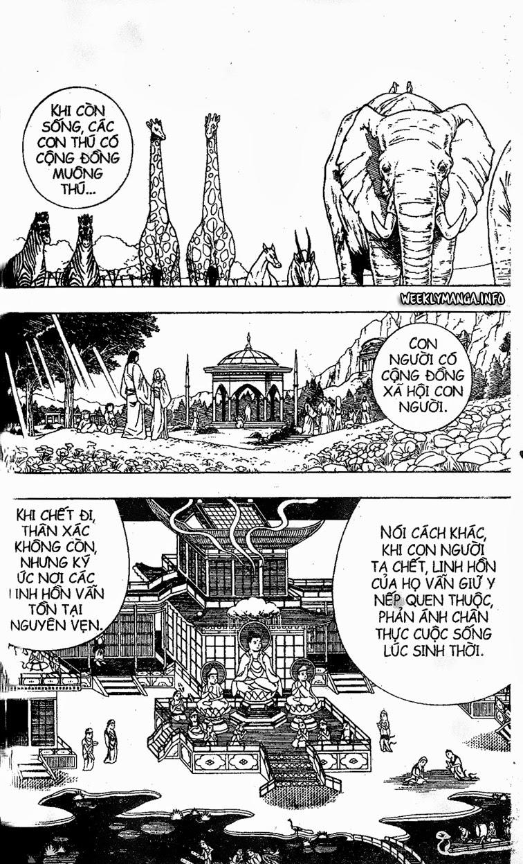 Shaman King [Vua pháp thuật] chap 194 trang 18