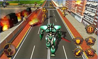 Game Futuristic Robots War Hero 3D Apk