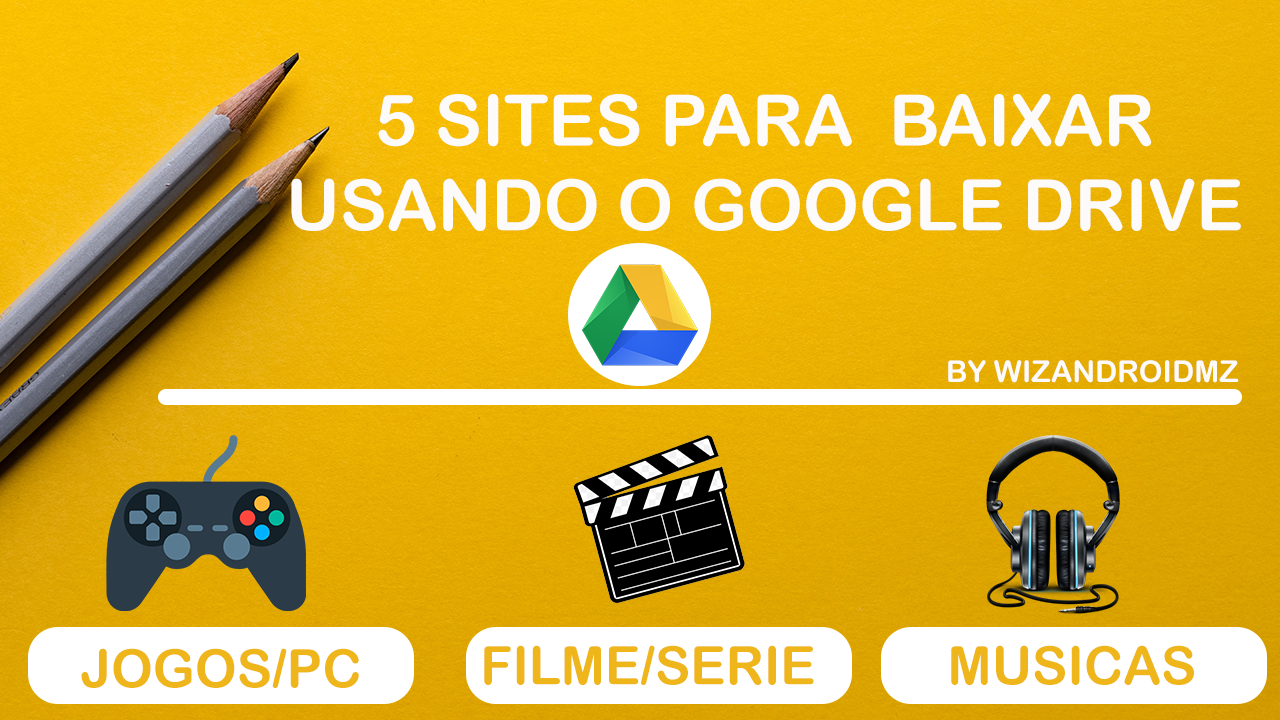 5 Sites Para Baixar Usando o Google Drive | Movitel Youtube Ilimitado