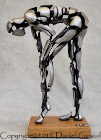 sculpture femme evidee