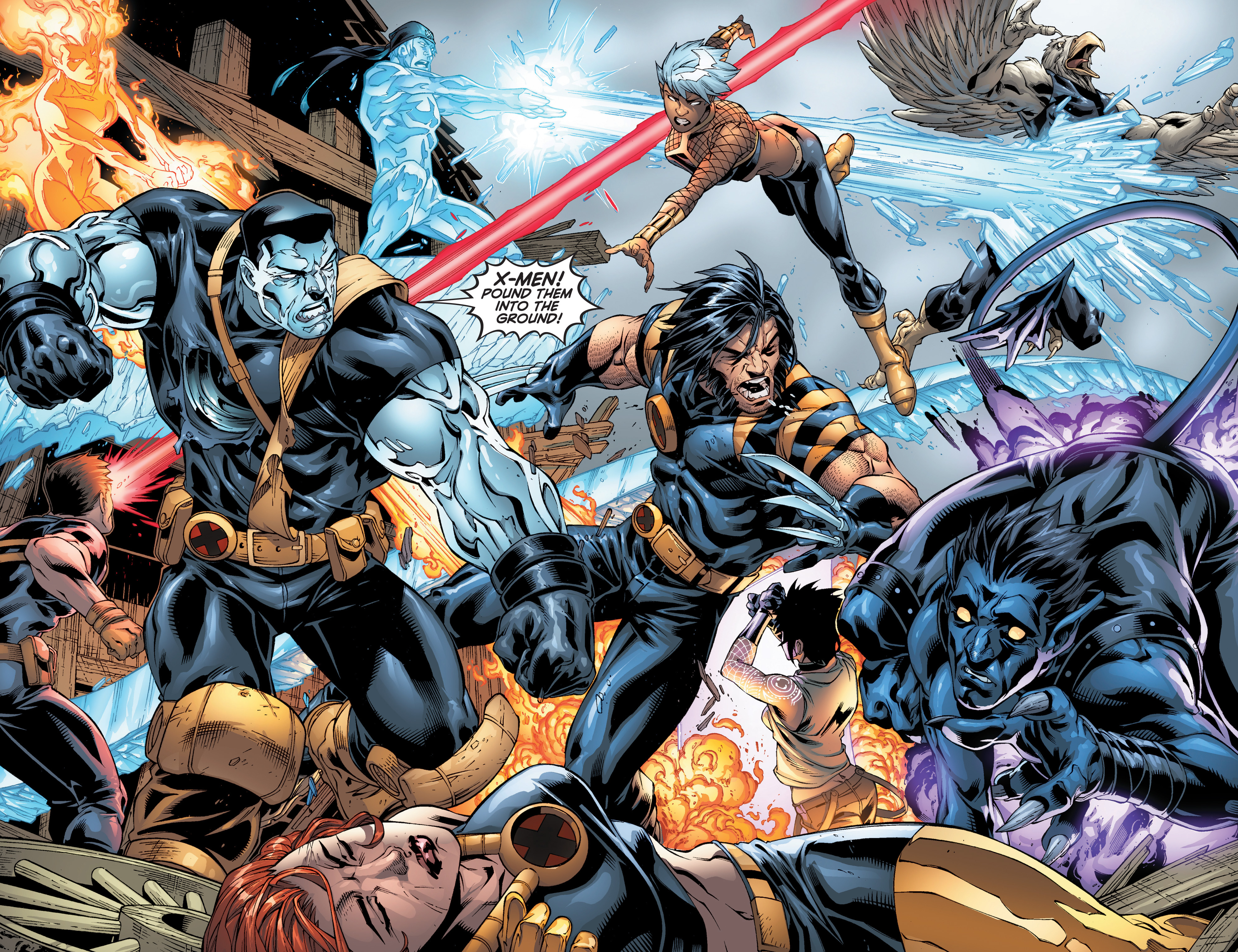 Read online Ultimate X-Men comic -  Issue #97 - 8