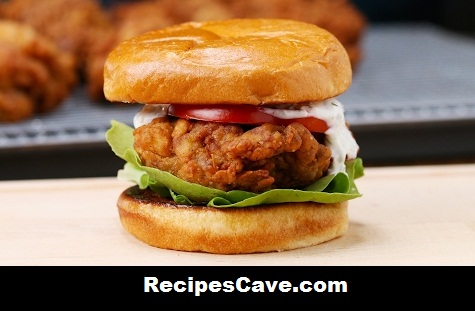 Butter Milk Fried Chicken Sandwich Recipe