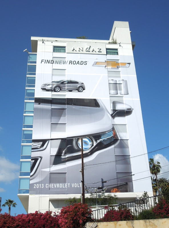 Giant Chevrolet Find New Roads billboard
