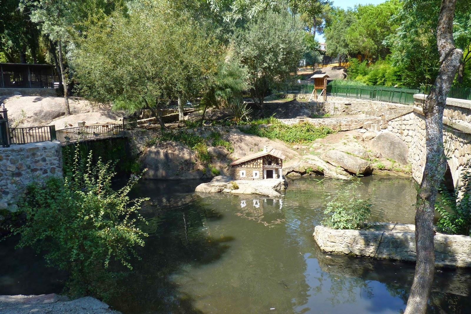 Parque Ornitológico de los Pinos en Plasencia.