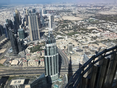View from Burj Khalifa, Dubai