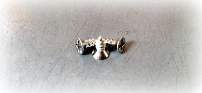 "Custom Type A Sheet Metal Screws With Tin Cobalt Chrome Finish - 6-18 X 3/8"" In 316 Stainless Steel Material"