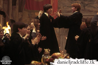 A Throwback Thursday photo - Harry Potter
